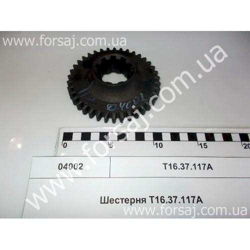 Шестерня Т16.37.117А (ведомая 3-й передачи)