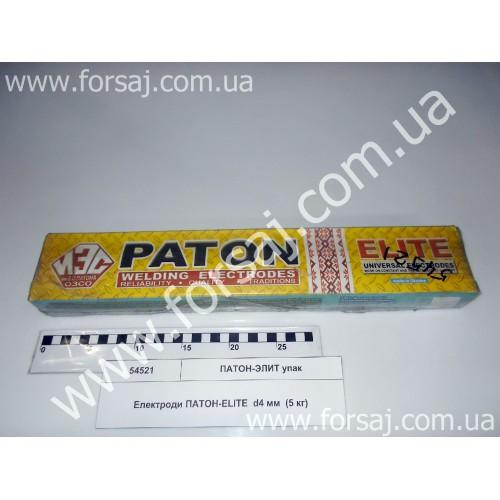 Электроды ПАТОН-ЭЛИТ d4 мм  (5 кг) упак.
