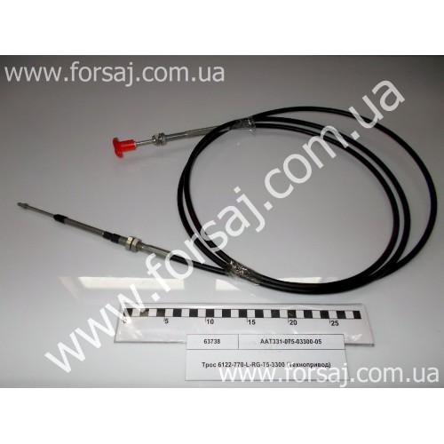 Трос 6122-770-L-RG-75-3300 (Технопривод)