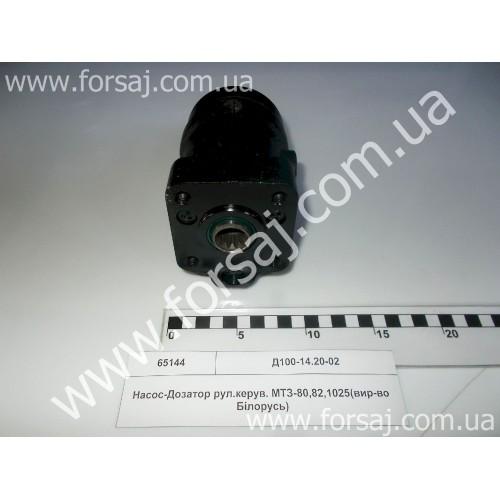 Насос доз. МТЗ-80.82.1025 рул.уп..(пр-во Беларусь)